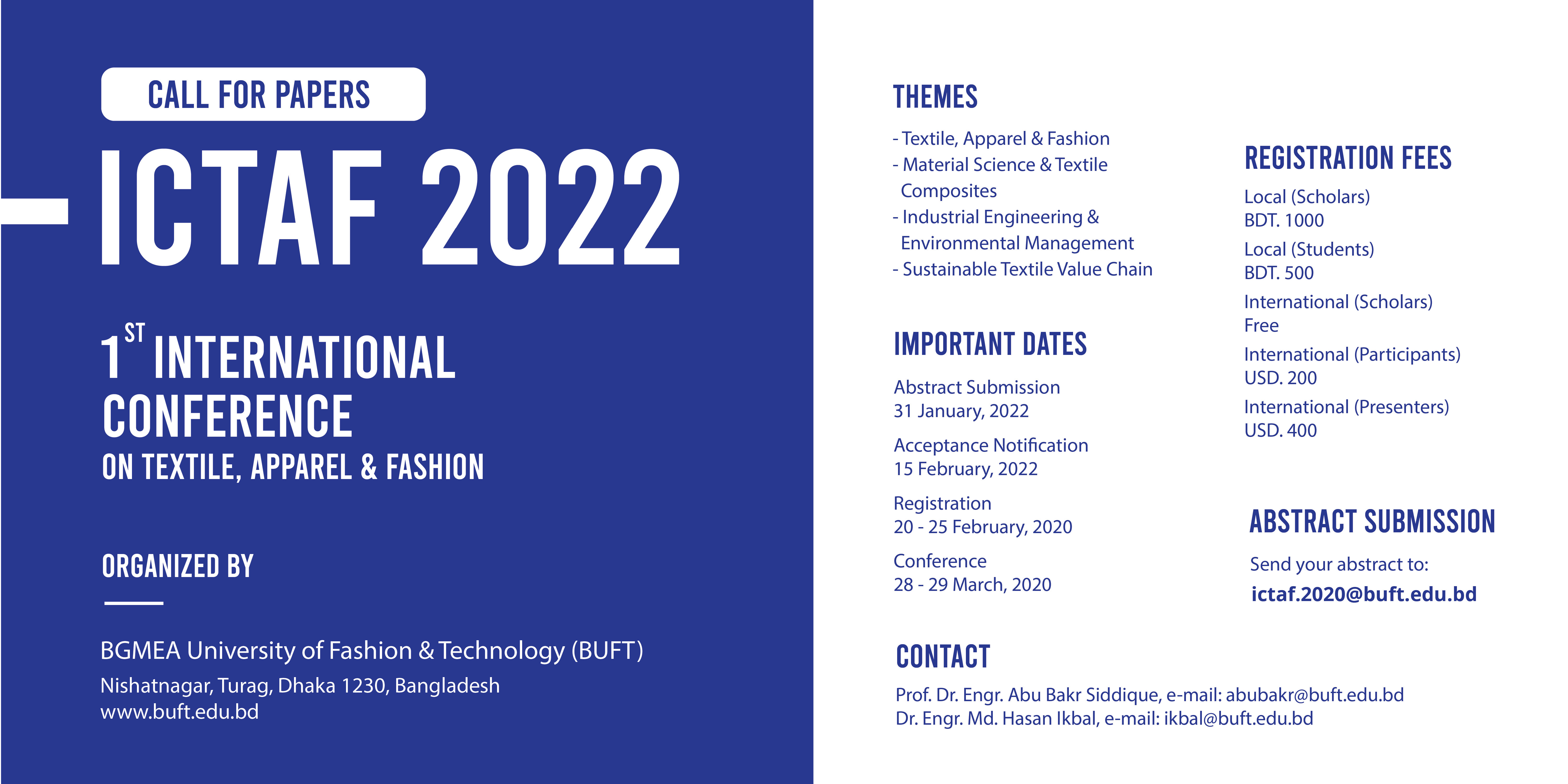 BGMEA University of Fashion & Technology